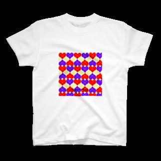Seven Villageのアーガイル T-shirts