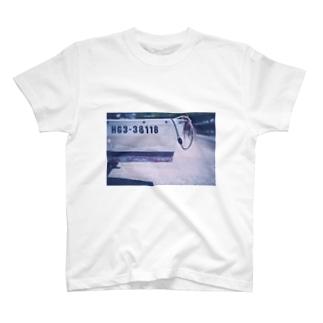 漁船の古びたナンバー T-shirts