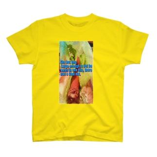 ヤギが食べた T-shirts