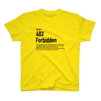 403 Forbidden T-shirts