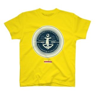 琉球伝統帆掛鱶舟帆漕馬鹿:紋章3 T-shirts