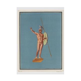 ポンペイ遺跡 裸の戦士 吸着ターポリン