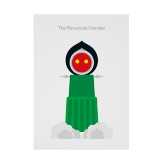 The Flatwoods Monster Stickable poster