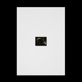 宇宙の贈りものの「音なき世界」 Stickable tarpaulin