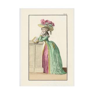 マリーアントワネット時代のファッション 吸着ターポリン