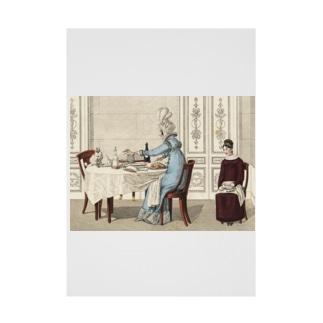 1818年の食卓風景 吸着ターポリン