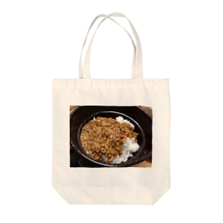 納豆ごはん Tote bags