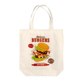Hamburger Series Tote bags