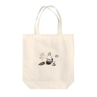 ARUHIRUSAGARI Tote bags