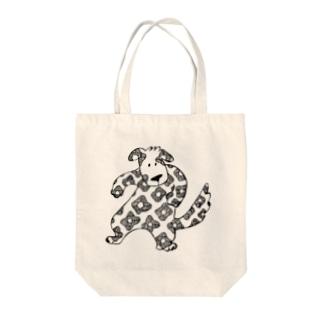 ハナガライヌくん Tote bags