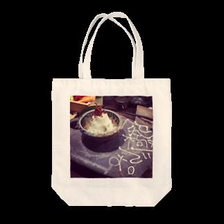 サキの究極のマグカップ Tote bags