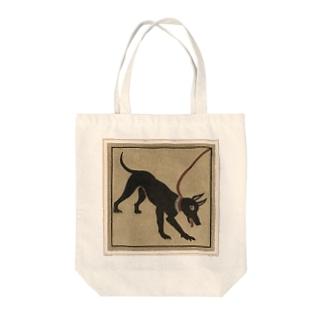 ポンペイの番犬 Tote bags