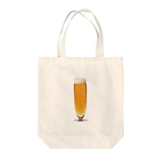 伊達政宗麦酒グラス Tote bags