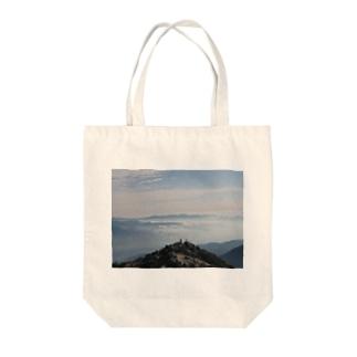 甲斐駒ヶ岳の山頂 Tote bags
