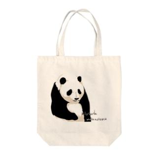 circle and dropsのパンダちゃん Tote Bag