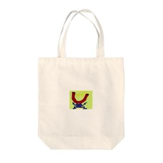 磁石マン Tote bags