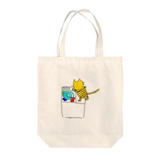 洗濯猫ジュリ Tote bags