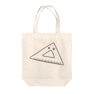 さんかく△ Tote bags