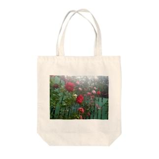 ガーデン -Tsubaki- Tote bags