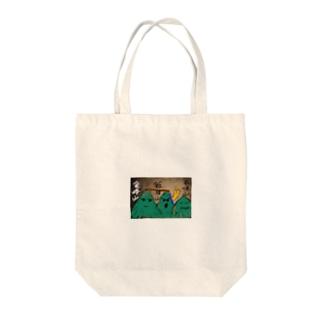 熊本の山 Tote bags