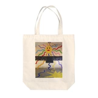 island JAPANのみんな元気! Tote bags