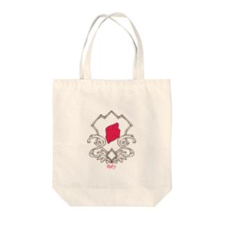 ルビー Tote bags