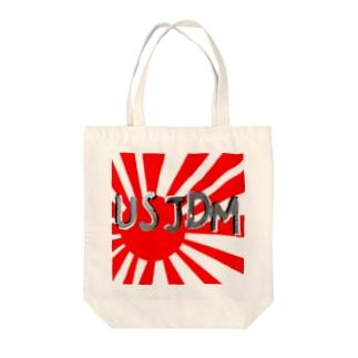 USJDM&日章 Tote bags