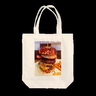すぎうらまさみのハンバーガー3段 Tote bags