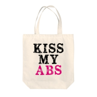 Beauty ProjectのKiss My Abs Tote bags