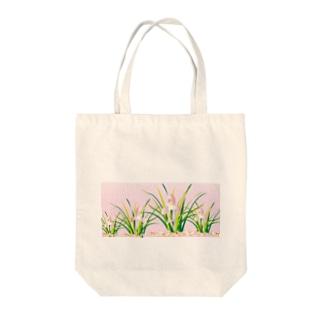 春蘭のお洒落なピンクの欄の花 Tote bags