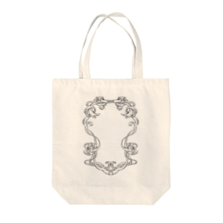 frame Tote bags