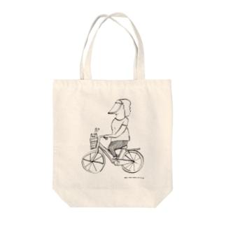 日よけレンジャー Tote bags