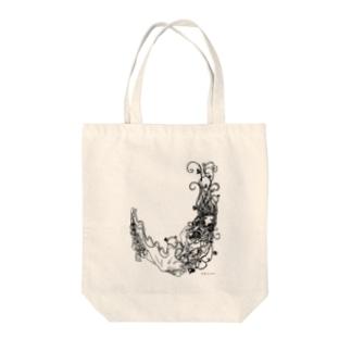 木の妖精 Tote bags