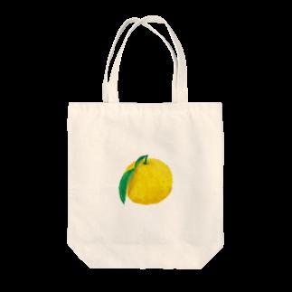 ヤッスーのゆず Tote bags