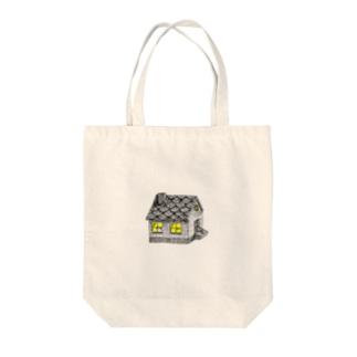 おばけハウス Tote bags