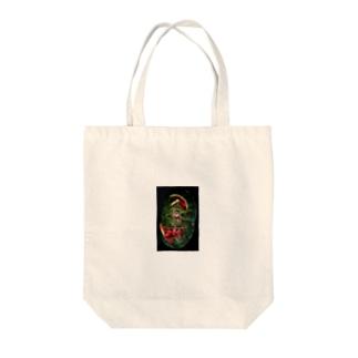 スイカお化け Tote bags