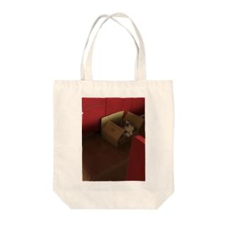 朝市の雄叫び Tote bags