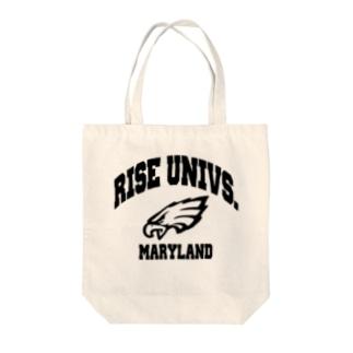 カレッジロゴトート Tote bags
