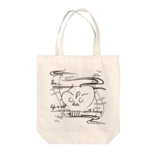 CG-KONDO-DOKURO Tote bags