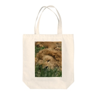 SHIMSOFTの王の休息 Tote bags