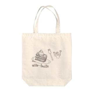 おやつ Tote bags