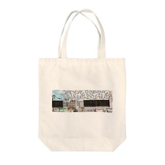 Los Angels Downtown Tote bags