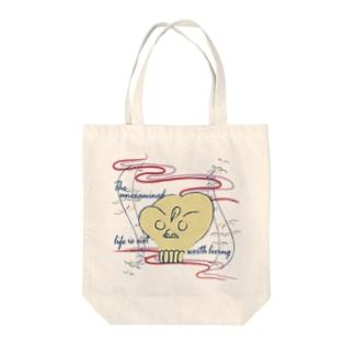 CG-KONDO-DOKURO-col Tote bags