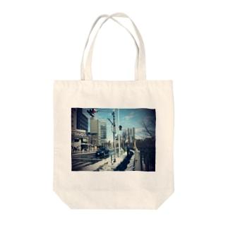 ICHIGAYA Tote bags
