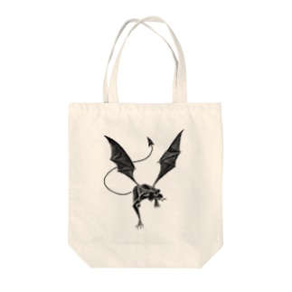gargoyle Tote bags