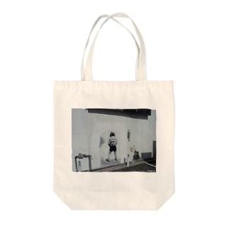 Los Angels Melrose Tote bags