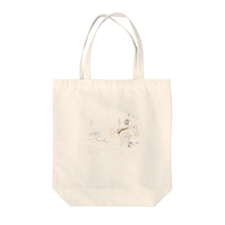 LAGがき-FAMILY Tote bags