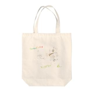 LAGがき-FAMILY-logo Tote bags