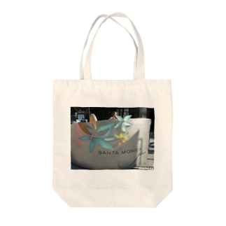 Los Angeles Santa Monica Tote bags