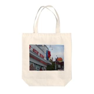 Los Angeles Melrose-2 Tote bags